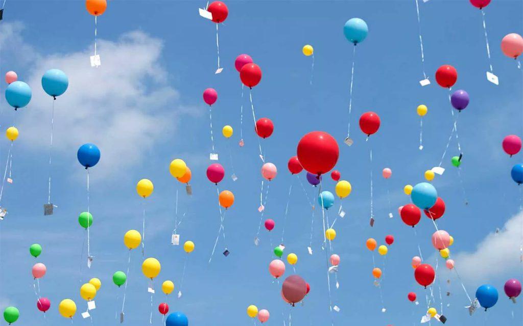 Отказ от запуска воздушных шаров