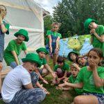 Детский палаточный лагерь «Экологическая кругосветка»
