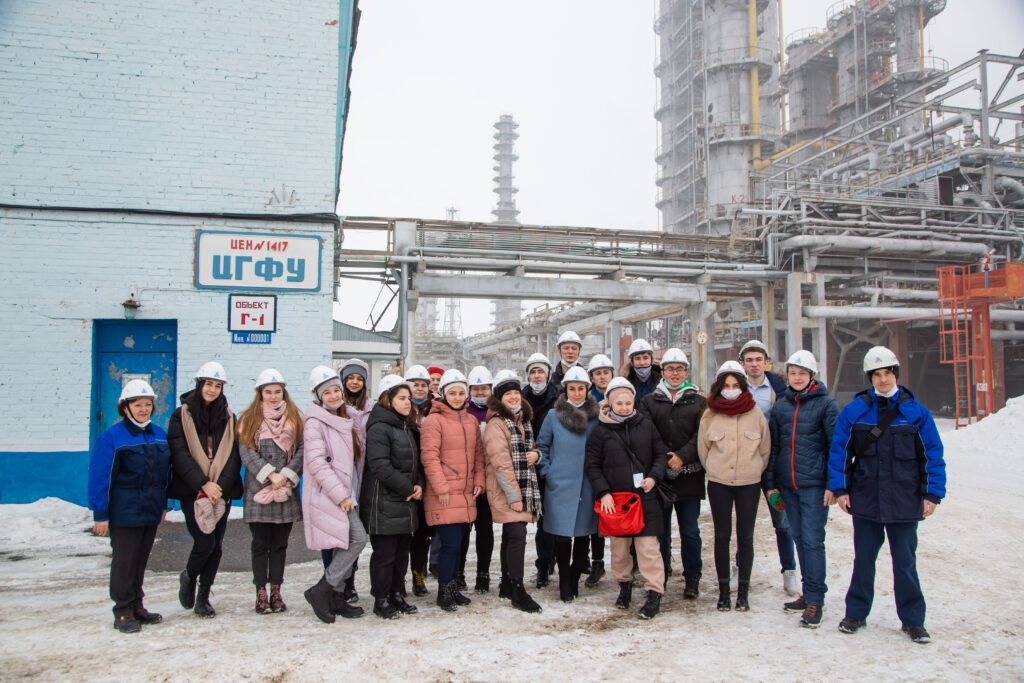 Экскурсия на производственные объекты ПАО «Нижнекамскнефтехим»