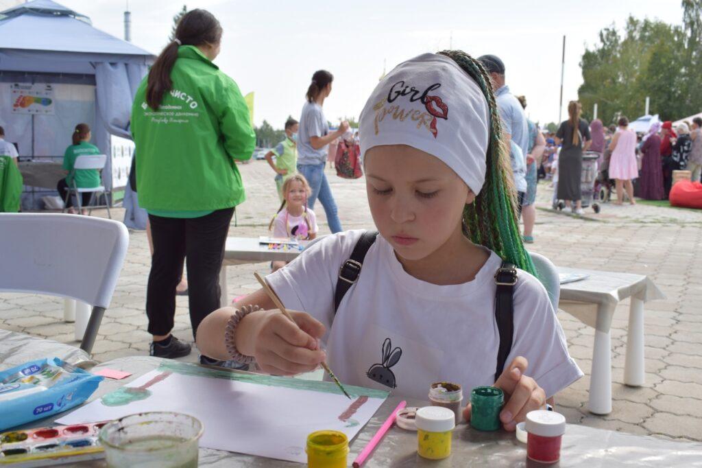 Экологический праздник «Будет чисто в Татарстане!» в Тюлячинском районе